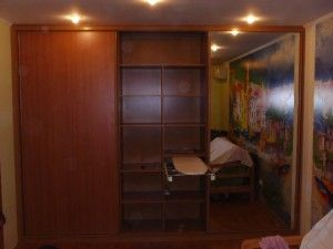 раздвижной шкаф в прихожую