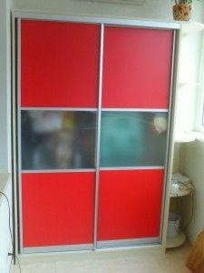 красный шкаф, раздвижной