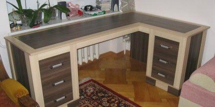 интересный дизайн заказного стола