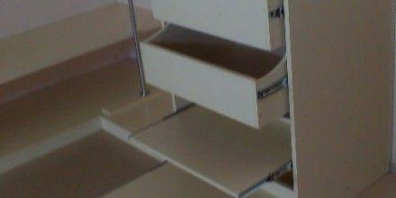 выдвижные полки шкафа