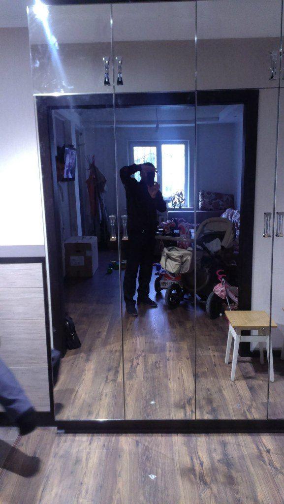 зеркальный шкаф в прихожую