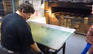 Узорчатые стекла для мебели